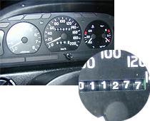 пробег автомобиля - 11277 км.